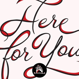 Here For You Stickers