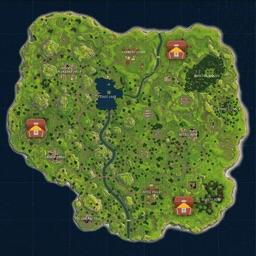 Fortnite Chest Map