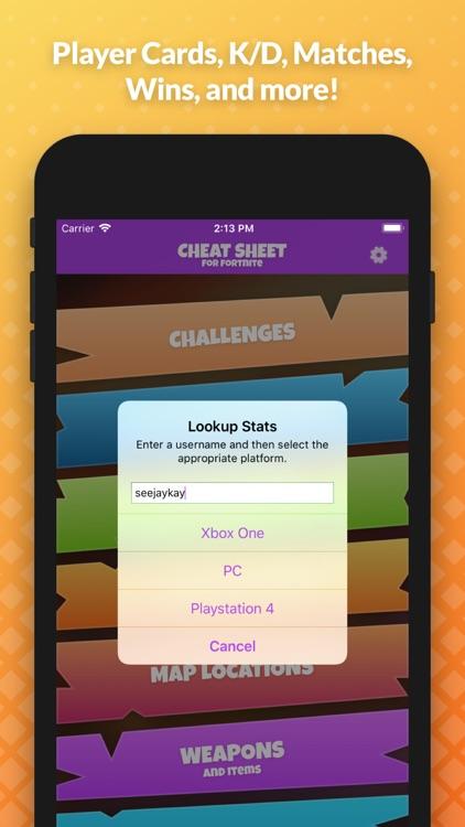 Cheat Sheet Guide for Fortnite screenshot-3