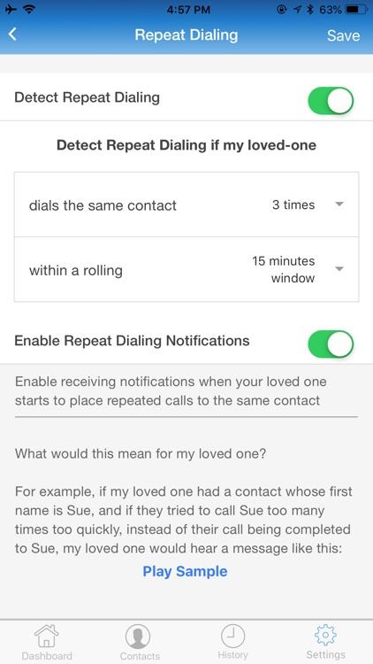 teleCalm Caregiver screenshot-5