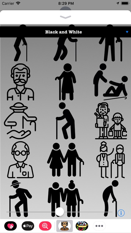 Old People HD Stickers screenshot-4