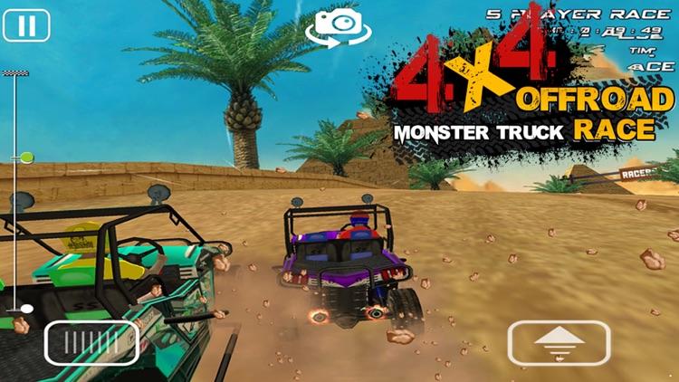 4x4 OFFROAD MONSTER TRUCK RACE screenshot-4