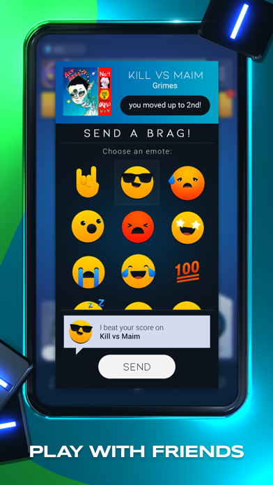 Beatstar Screenshot on iOS