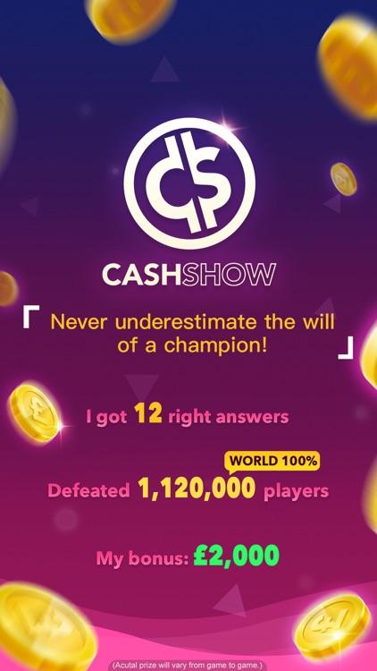 Cash Show UK - Win Real Cash! screenshot-4