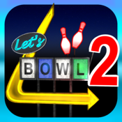 Lets Bowl 2: Free Multiplayer Bowling icon