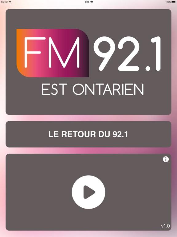 FM 92.1 Est-Ontarien screenshot 6