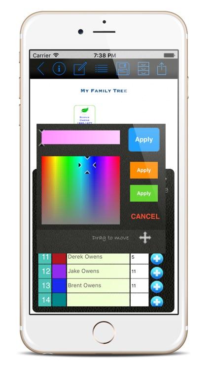 Family Tree Builder App screenshot-3