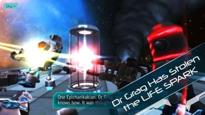 Screenshot 1 Explodey: Sci-Fi Side Scroller