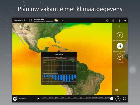 MeteoEarth iPad app afbeelding 5