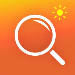 Ícone do app Magnifying Glass & Flash Light