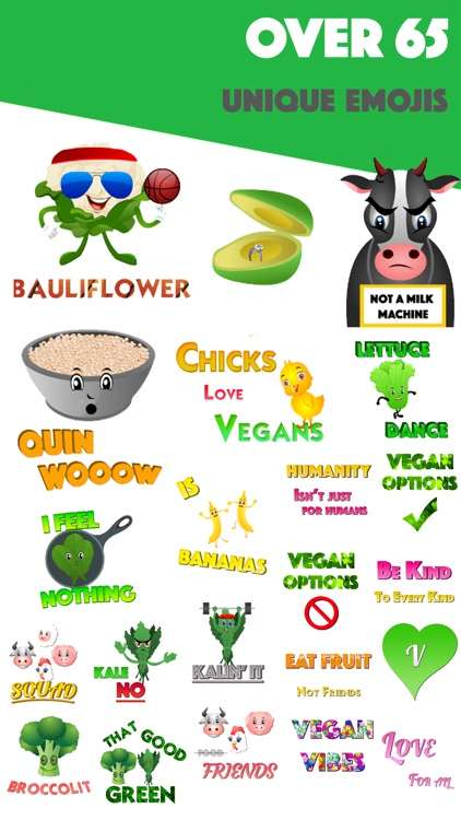 KaleMoji - Vegan Emojis screenshot-1