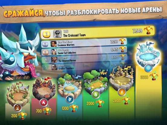 Игра Dragon City Mobile