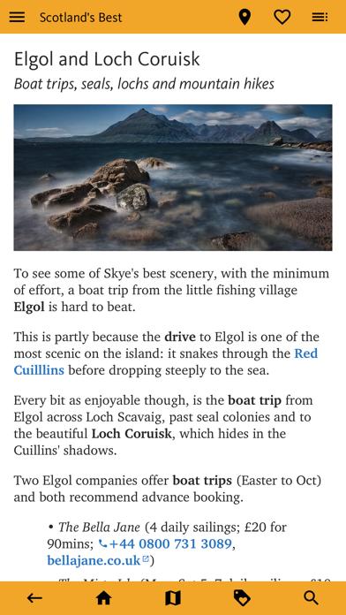 Scotland's Best: Travel Guide screenshot 1