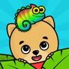キッズ・幼児向けパズルと点つなぎ知育アプリ・動物塗り絵ゲーム - iPadアプリ