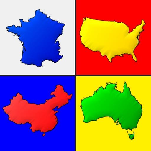 Карты всех стран - Викторина