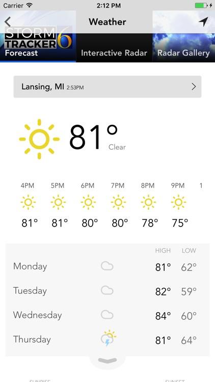 WLNS TV 6 Lansing - Jackson screenshot-3