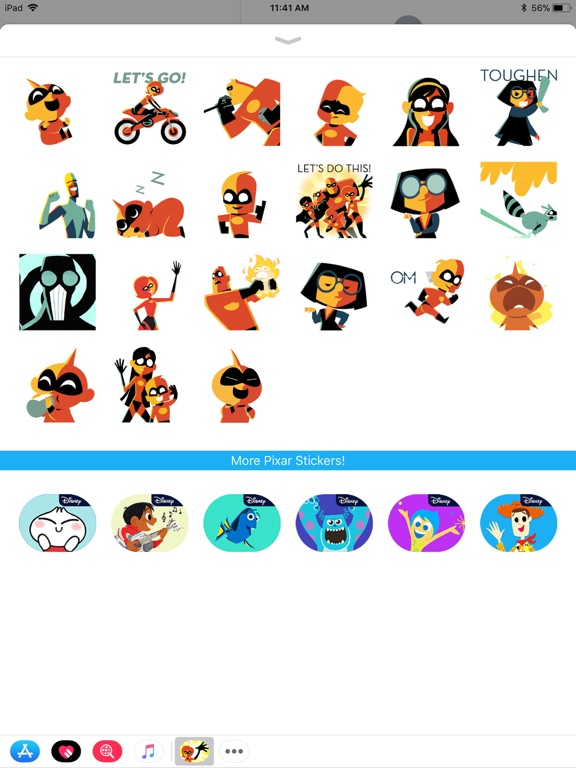 Pixar Stickers: Incredibles 2 screenshot 7