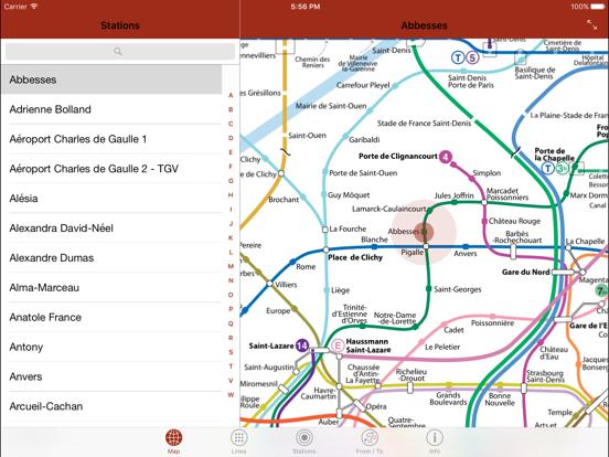 Paris By Metroのおすすめ画像1