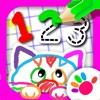 123 描いて!  子供 向け ゲーム 幼児 数字 学習