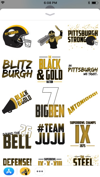 Steel Curtain Sticker Packer screenshot-1