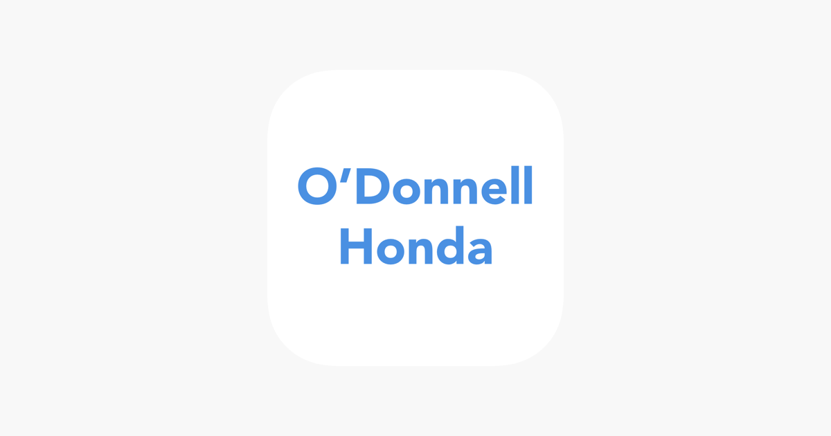 Ou0027Donnell Honda On The App Store