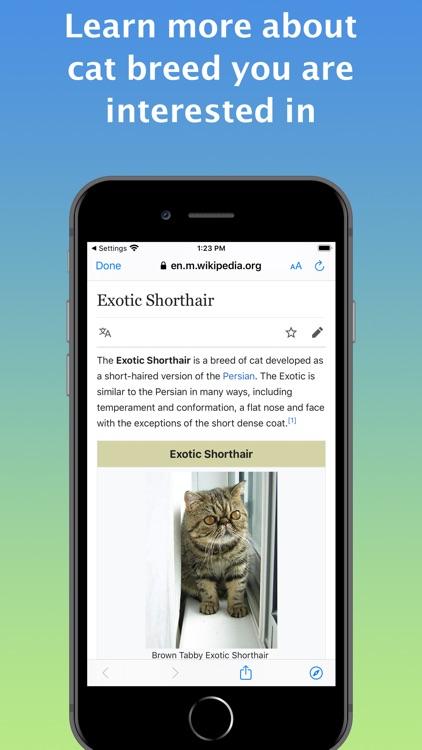 Cat Identifier - Kitty Scanner screenshot-6