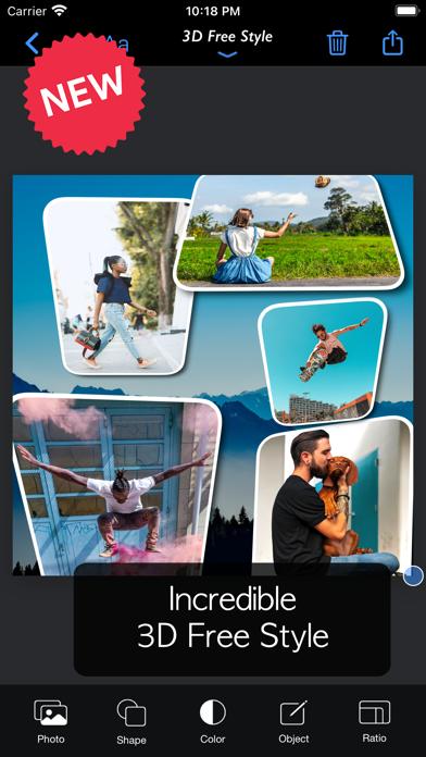 FrameMagic - Collage Maker ScreenShot1