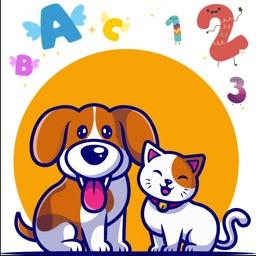 Duo ABC Mouse, Cat, Lingo kids