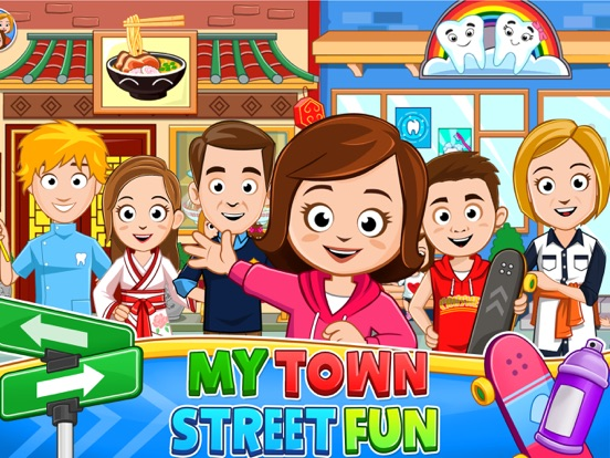 My Town : Street Fun screenshot 6
