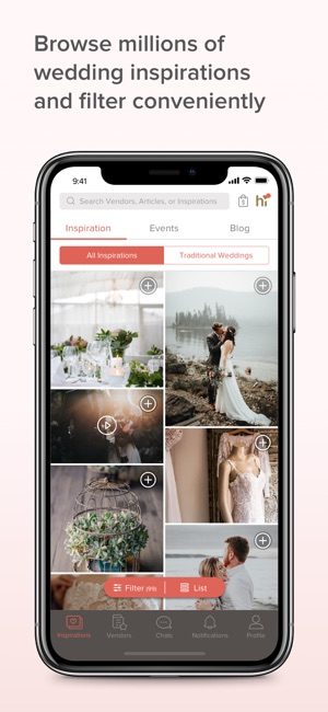 Bridestory wedding app hilda on the app store iphone screenshots junglespirit Gallery