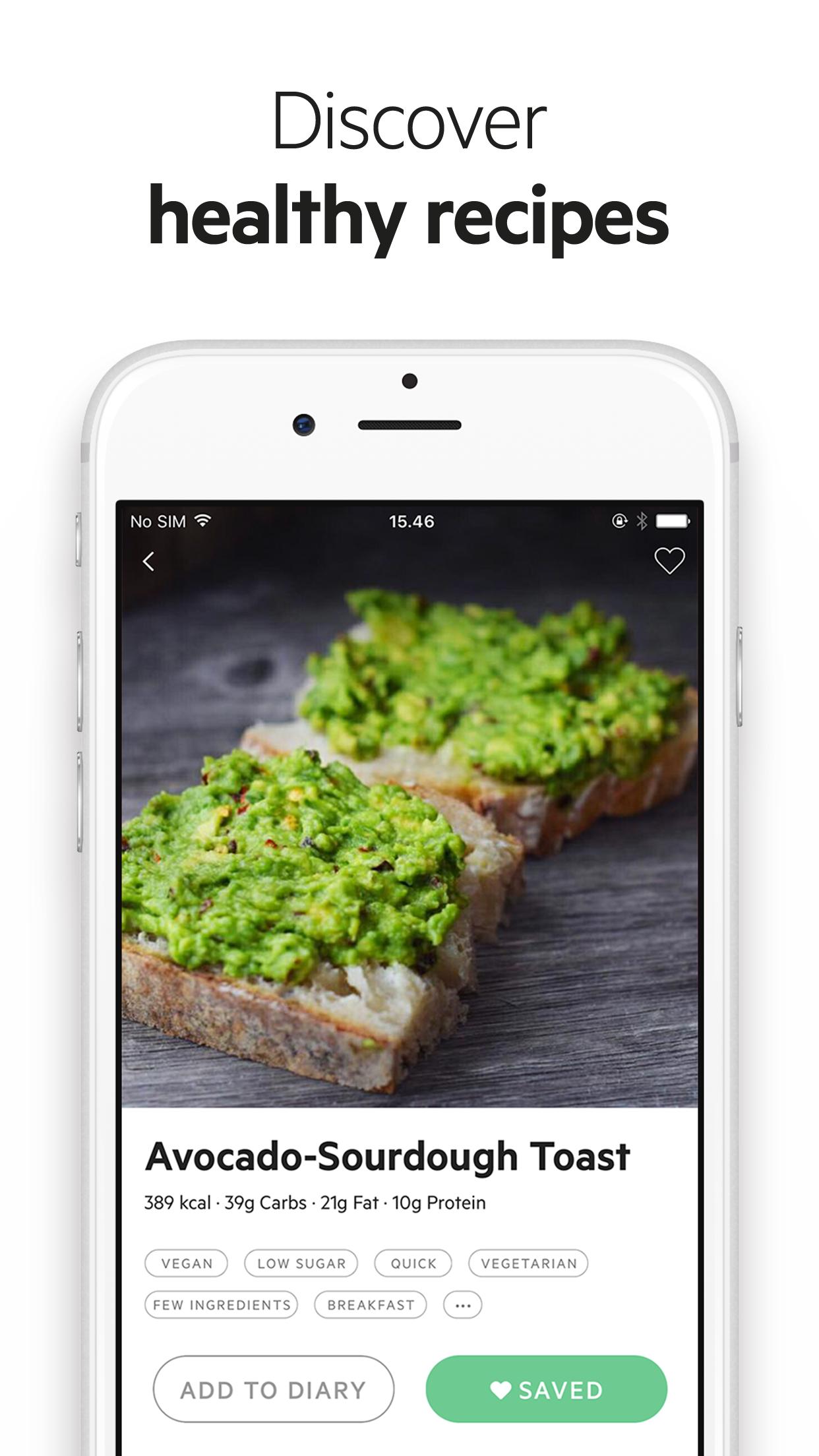 Lifesum - Diet & Food Diary Screenshot