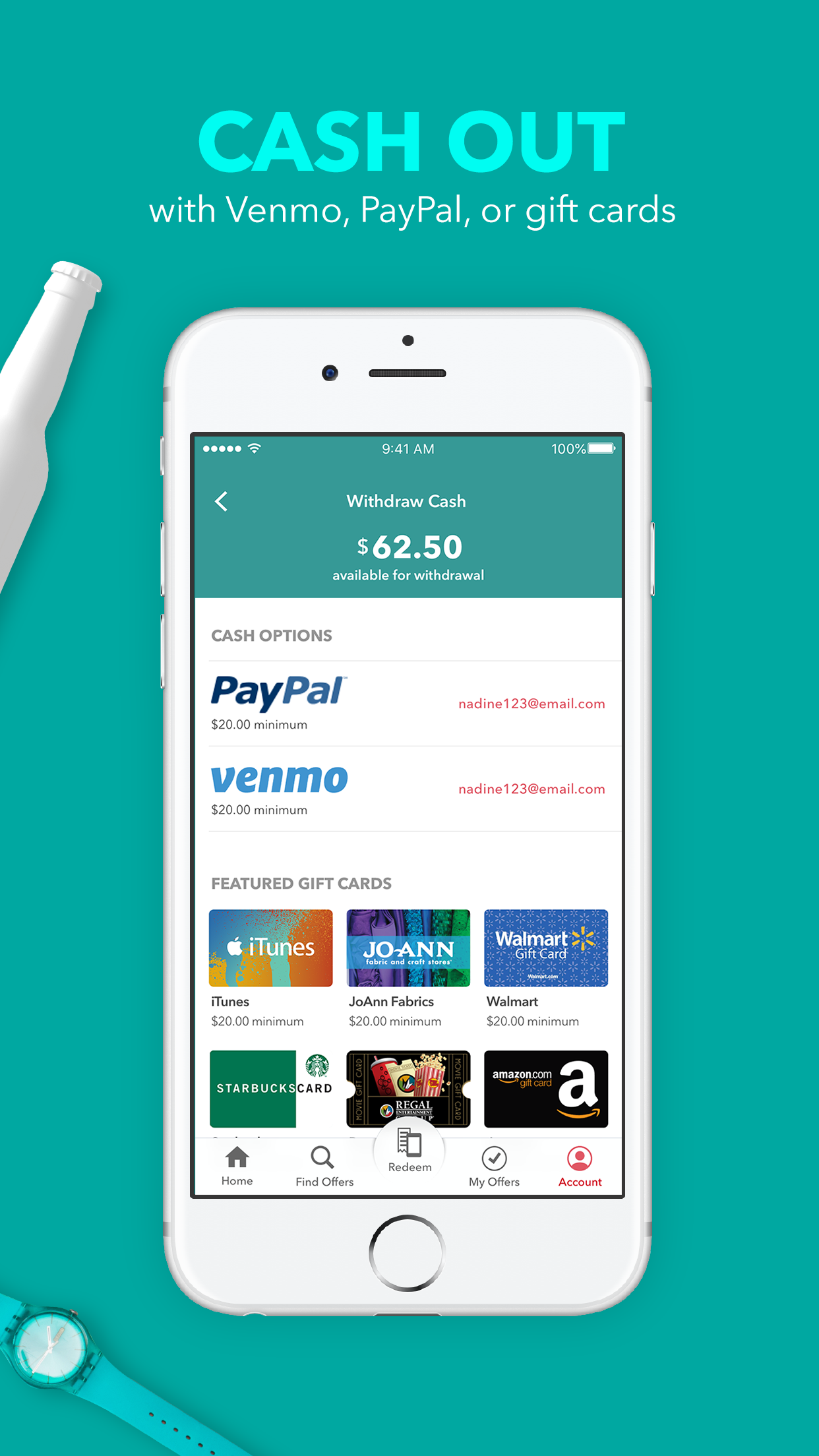 Ibotta: Cash Back Rewards App Screenshot