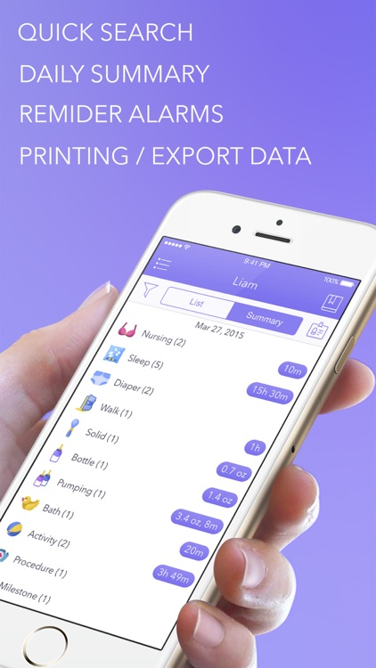 Awesome Baby Tracker Premium screenshot-4