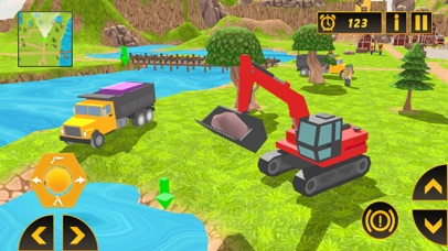 Heavy Crane Excavator 2018 screenshot 4