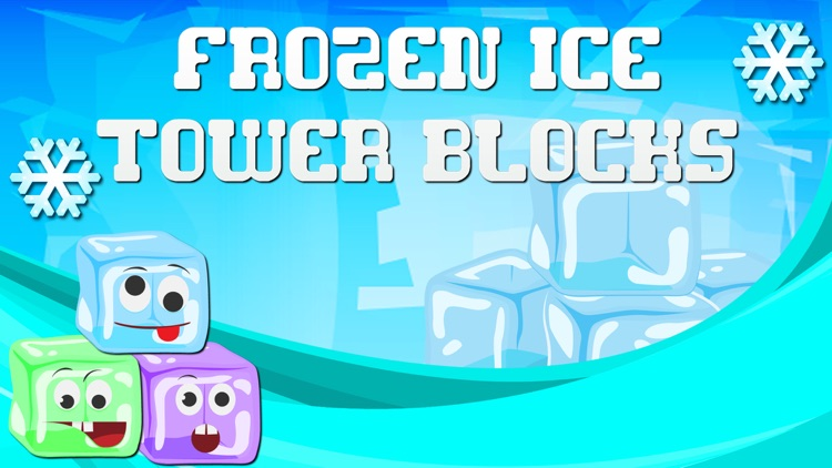 Frozen Ice Tower Blocks