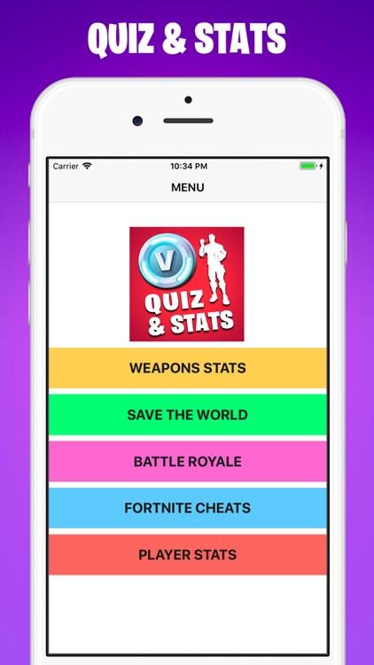 VBuck Quiz & Stat For Fortnite