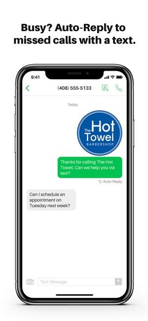 Sideline app texting
