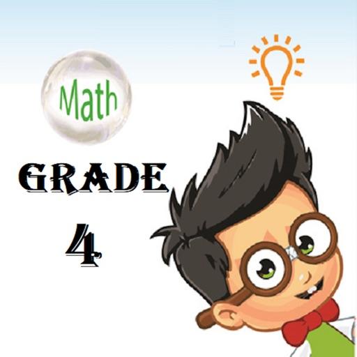 Grade 4 Math Trivia icon