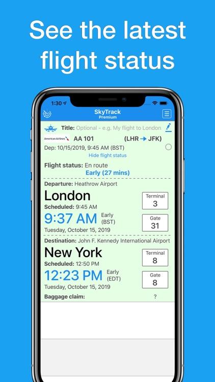 SkyTrack flight tracker aware screenshot-6