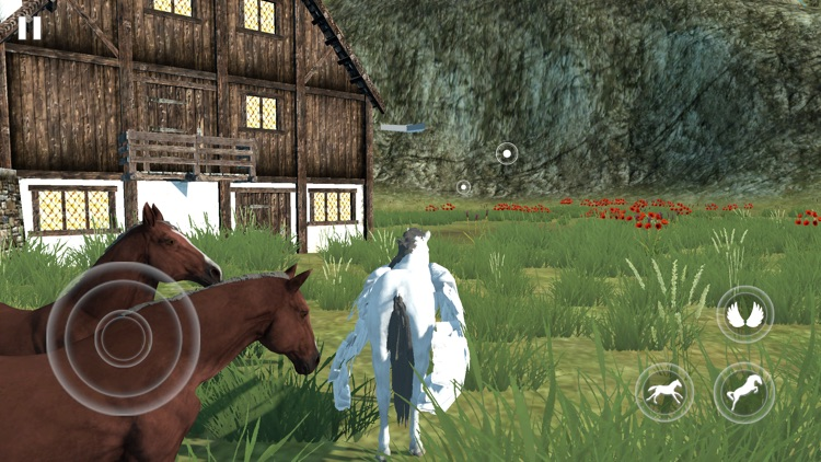 Flying Unicorn Simulator 2021 screenshot-3