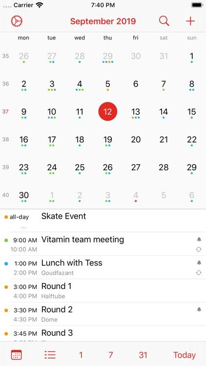 Calalarm - Calendar screenshot-4