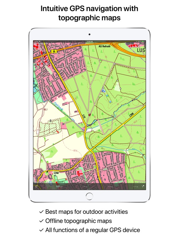 Topo GPS Germany | App Price Drops