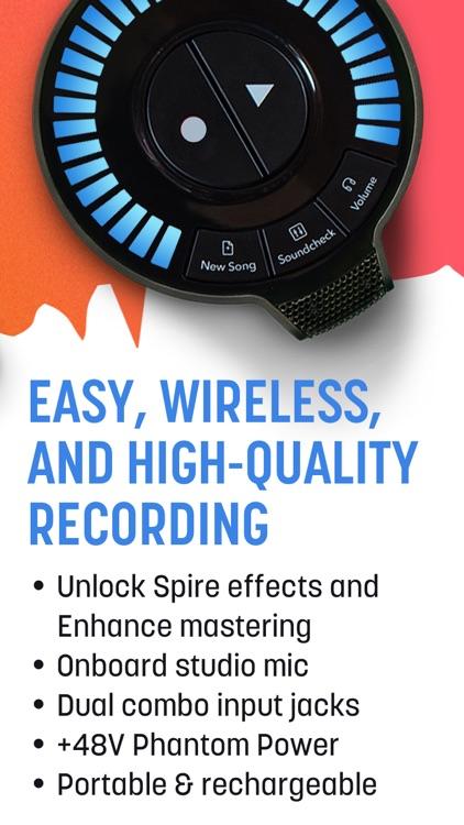 Spire: Music Recorder & Studio screenshot-7