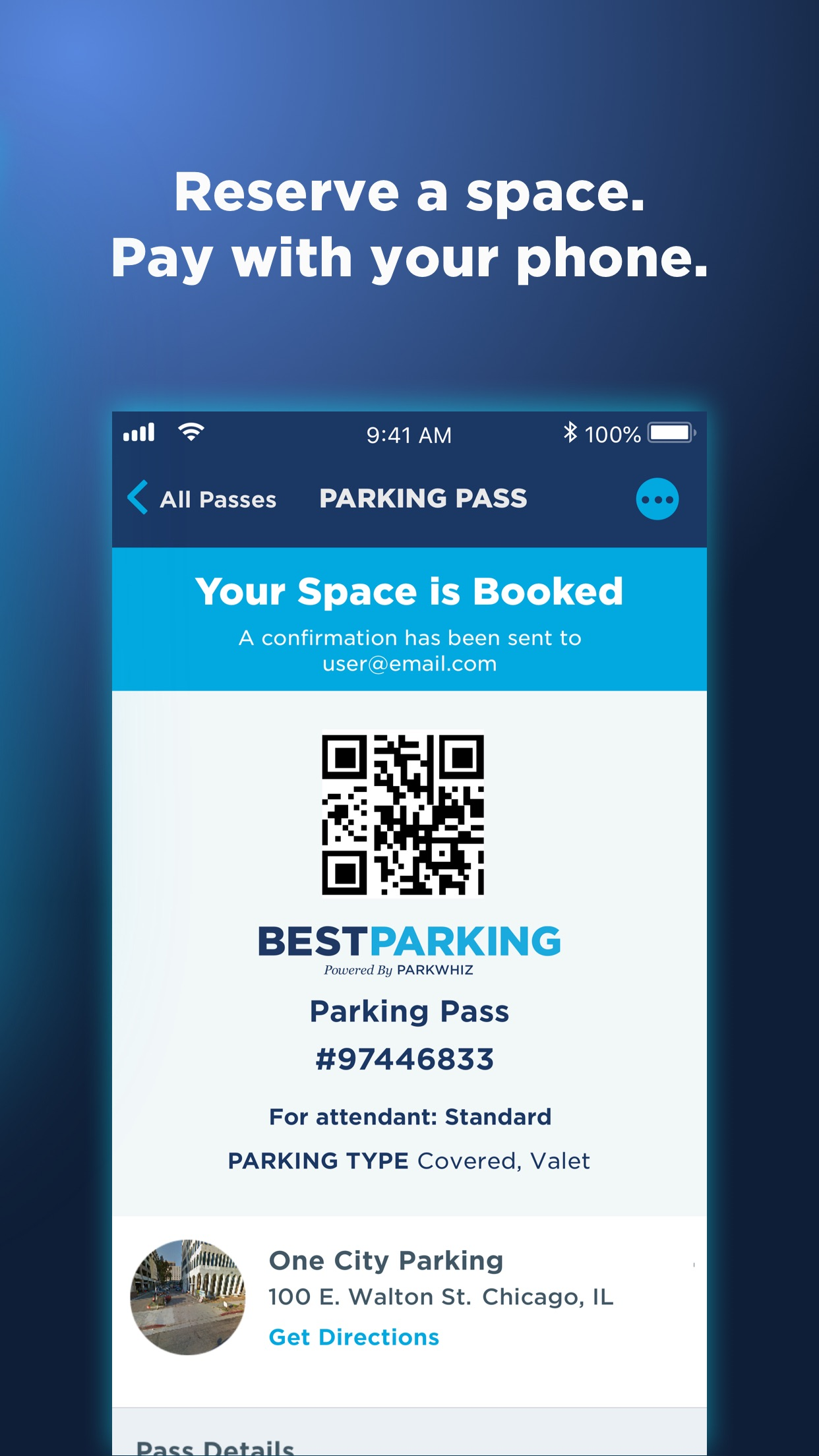 BestParking: Get Parking Deals Screenshot
