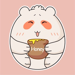 Silly Bear Animated Sticker