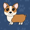 Corgi Puns - cute dog stickers - iPhoneアプリ
