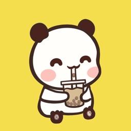 奶茶打卡 - 可爱奶茶日记小本
