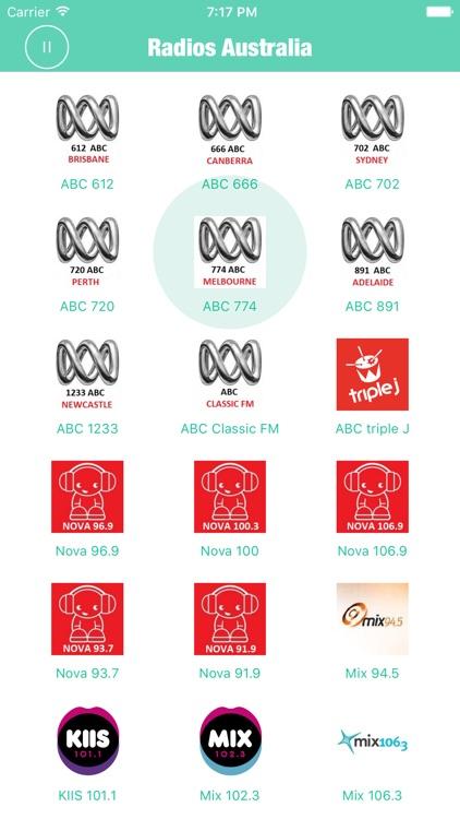Radios Australia Pro Radio FM