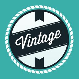 Ícone do app Design Vintage: Criar Logo