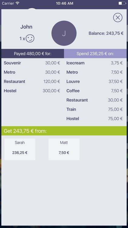 Split expenses & bills, costs screenshot-5